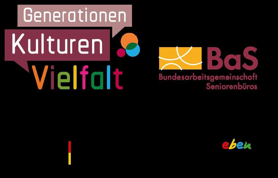 Generationen Kulturen Vielfalt, ein Projekt der BaS gefördert vom Bundesministerium für Familie, Senioren, Frauen und Jugend im Rahmen des Bundesprogramms Demokratie leben!